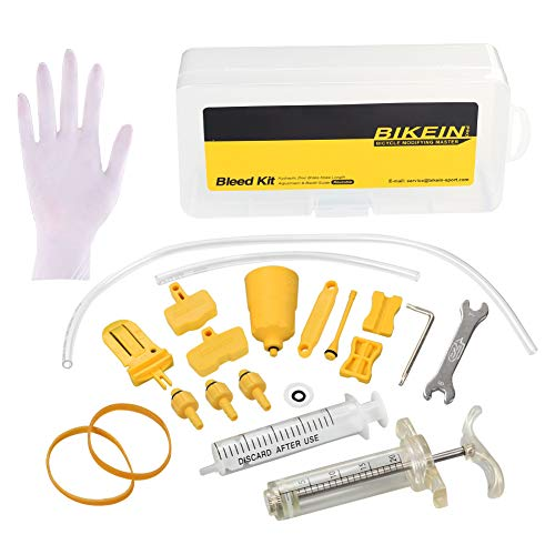 BIKEIN PRO Bicycle Hydraulic Brake Bleed KIT for Shimano & TEKTRO & Magura MT Seires Brake System Mineral Oil Brake