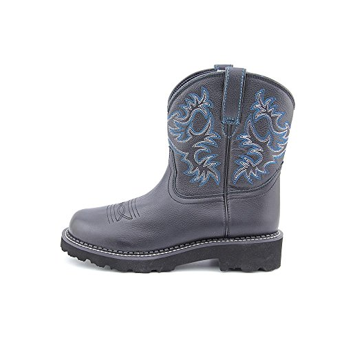 Ariat Cowboy Black Western Saddle Boot Fatbaby Deertan Women's 6qx6r1