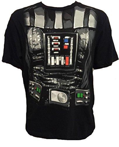 Disney Star Wars Darth Vader Costume Cape Tee T-shirt (Medium)