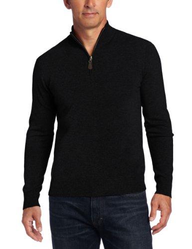 Williams Cashmere Mens Quarter Zip Sweater product image