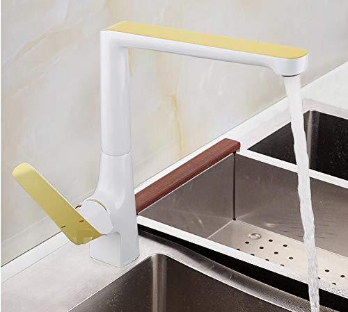 Mkkwp Küchenarmatur Bronze Wasser Mischbatterie Spüle Wasserhahn Messing Wasserfall Wasserhahn Bad Wasser Waschbecken Kranhahn
