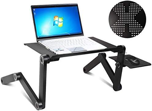 COSTWAY Mesa para Laptop con Bandeja para Ratón Mesa para ...