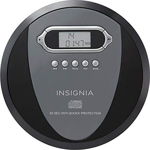 Insignia NS-P4112 Portable CD Player with Skip Protection for CD, CD-R, CD-RW - Includes -