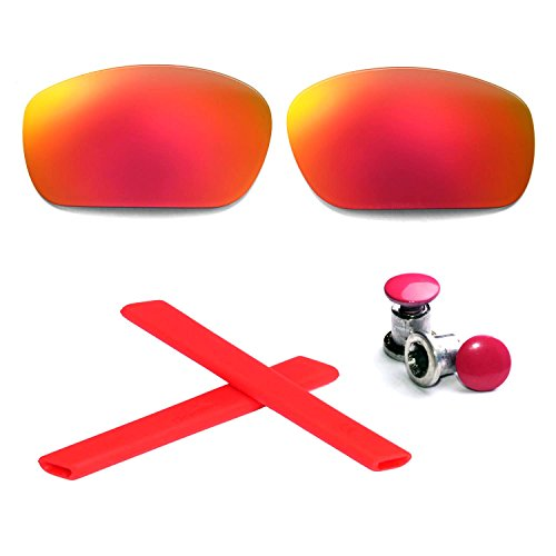 Walleva Polarized Lenses + Rubber + Bolt For Oakley Jawbo...