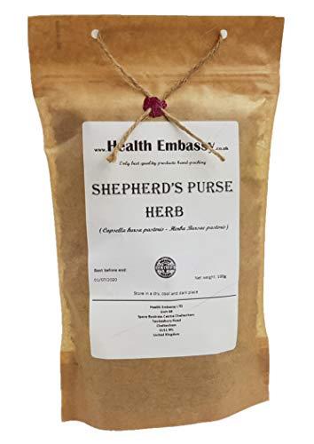 Shepherds Purse Herb (Capsella Bursa-pastoris) - Health Embassy - 100% Natural (100g)