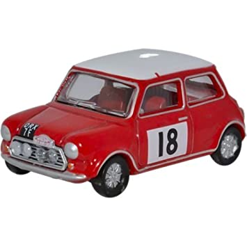 Oxford Carro De Hierro Fundido 76mcs001 Mini Cooper S Mkii Rally