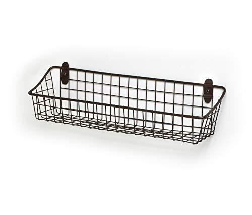(Spectrum Diversified Medium Vintage Cabinet & Wall Mount Basket,)