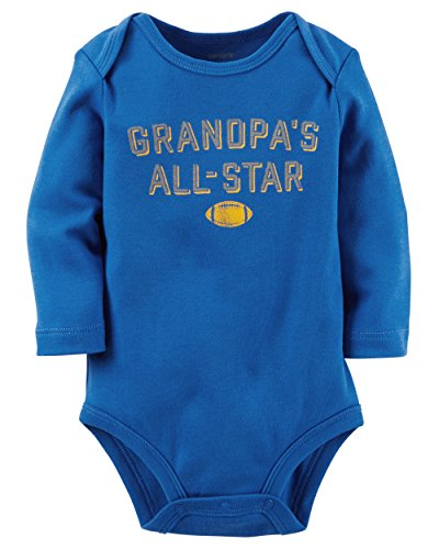 Ki Baby Clothes - Carter's Baby Boys' Grandpa's All-Star Bodysuit 24 Months