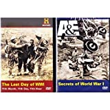 The History Channel : The Red Baron WWI Ace, The Last Day Of WWI , Secrets Of World War 1 : The War To End All Wars 3 Pack Gift Set