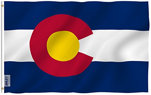 Best colorado flag with pole list