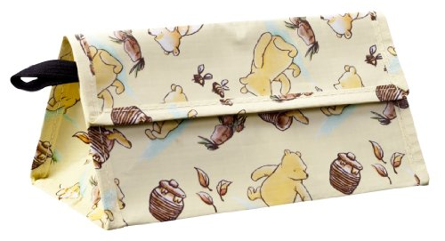 Zak Designs Good to Go Classic Pooh Reusable Snack Bag