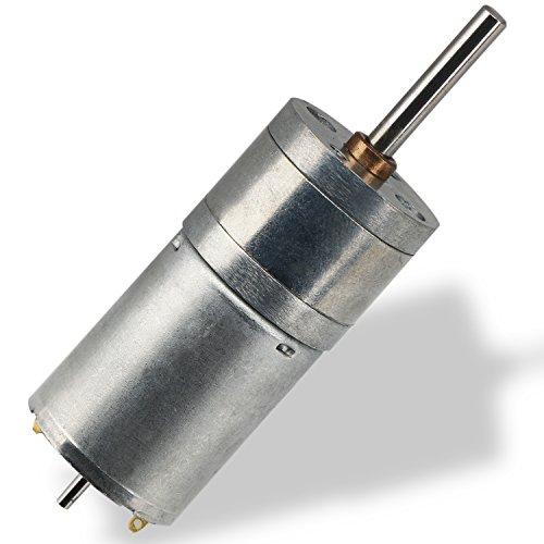 DROK 25GA 370 180RPM DC Gearbox Motor, 12V Small Electric