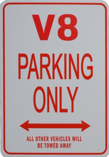 velty Miniature Parking Signs - Ideal gift for the Motoring Enthusiast (Fans Parking Only Sign)