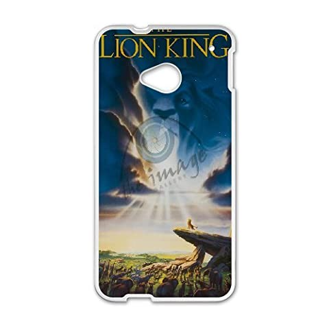 HTC One M7 Phone Case The Lion King Q22Q389098 (Lion King Htc One M7 Case)