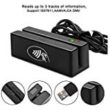 SZiTW MSR100-RF 2 in 1 USB tracks 1/2/3 Magnetic Stripe Card Reader and RFID Card Reader/Writer With SDK Software For POS System