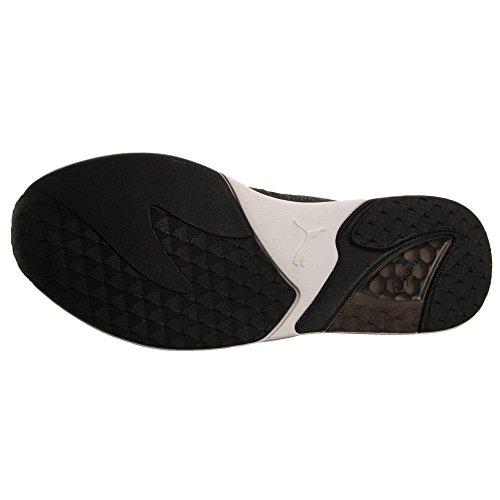 Puma-Mens-Xs500-Woven-Sneaker-Dark-ShadowBlackWhite-95-M-US