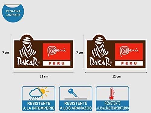 Dakar 12 Stickers Autocollants Adhésifs Moto Auto Voiture Sponsor Marques