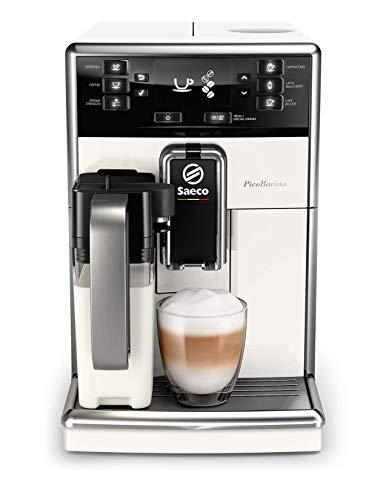 Saeco super-automatic espresso coffee machine with an adjustable grinder, milk frother, maker for brewing espresso, cappuccino, latte. PicoBaristo ()