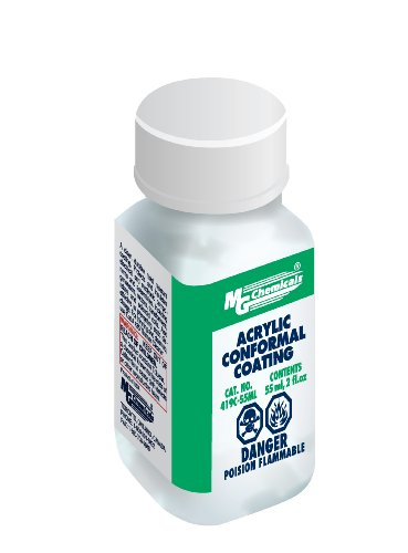 MG Chemicals 419C-55ML Acrylic Lacquer Conformal Coating, Clear,55 ml (Clear Coating)