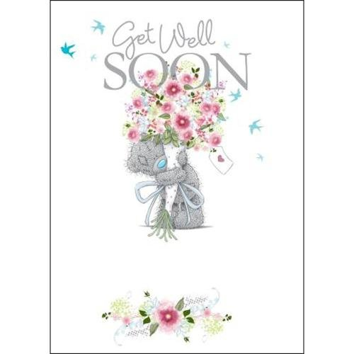 Get Well Soon Me to You Bear Card Carte Blanche