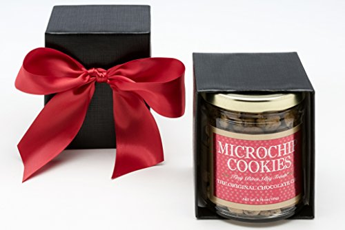 The World's Tiniest, Most Irresistible Chocolate Chip Cookies - Be The Party Favorite & Give The Gift Of Gourmet Microchips - 5oz Fresh Mini Cookies In Gift Box - Small Batch Handmade In (Gourmet Cookie Club)
