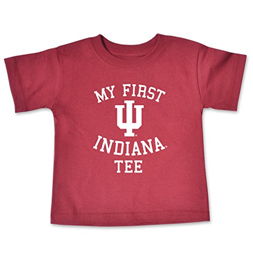 NCAA Indiana Hoosiers Infant Short Sleeve Tee, 12 Months, Cardinal