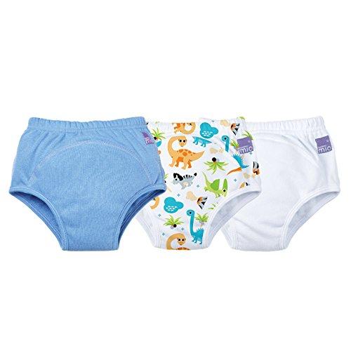 Bambino Mio, Potty Training Pants, Mixed Boy Dino, 3+ Years, 3 Pack