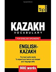 Kazakh vocabulary for English speakers - 9000 words