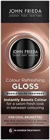 John Frieda Colour Refreshing Gloss, Cool Brunette, 6 Ounce