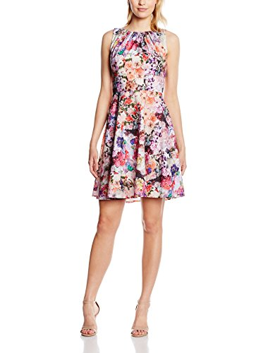 Donna 00 vestito Giallo Bianco Swing 500499 9475 aHqtwWO