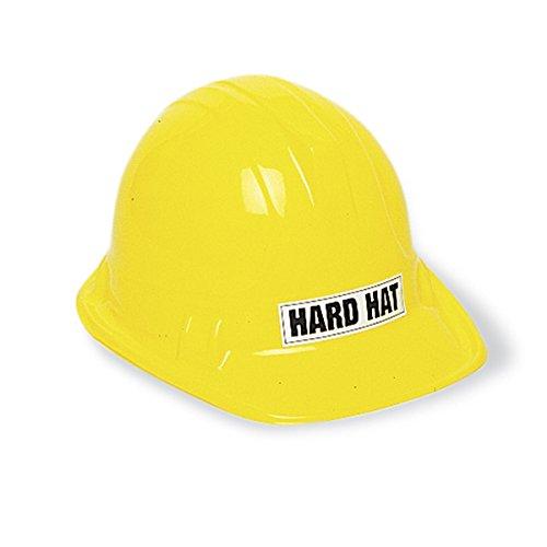 Child's Plastic Construction Party Hat