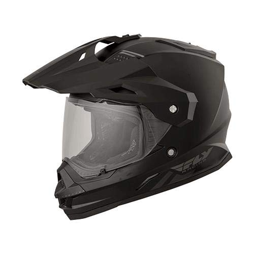 Fly Racing 73-7011M Trekker Helmet (Color Matte Black, Size Medium)