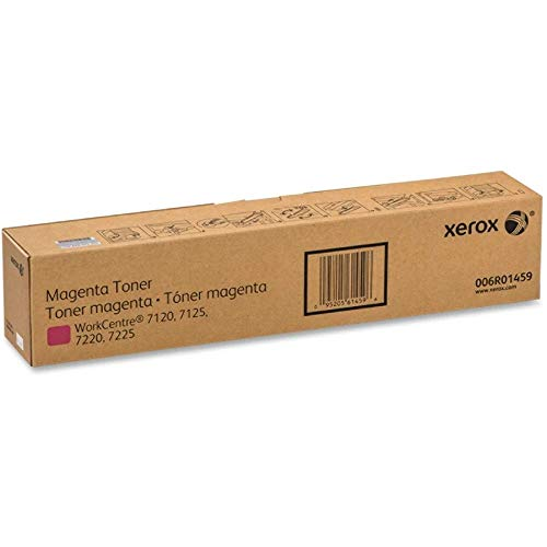 Xerox WorkCentre 7120/7125, 7220/7225, 7220i/7225i Magenta Toner Cartridge (15,000 Pages) - 006R01459