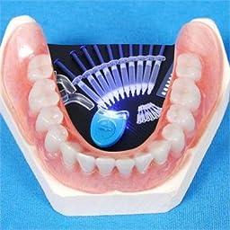 EHM ALTA AURA GLOWZ Teeth Whitening Kit (10) ALTA AURA Gels (2) Trays (1) AURA BLUE White LED Light