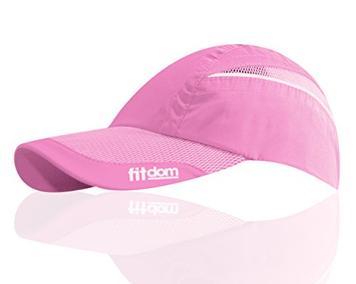 Feather Light Womens Hat (Lightweight Sports Cap for Men and Women, One Size Fits All Even with a Ponytail, All Season Performance Hat with Quick Dry Technology for Running, Walking, Hiking, Marathon, Tennis, Golf & More)