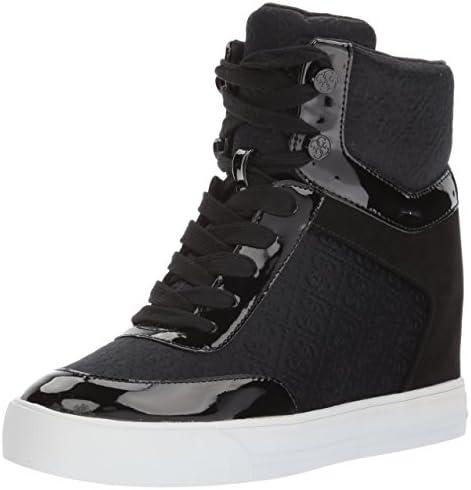 GUESS Women's Daylana Sneaker, Black