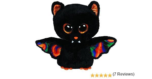 Desconocido Beanie Boos 41108 - Peluche Murciélago, 8 x 5 x 15 cm (41108) - Peluche Murciélago Scarem (15cm), Juguete peluche Primera infancia A partir de 4 ...