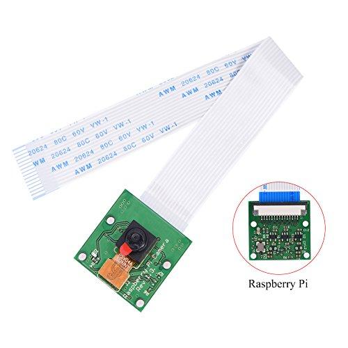 Huhushop(TM) Camera Module Board REV 1.3 5MP Webcam Video 1080p 720p Fast For Raspberry Pi by Yosoo