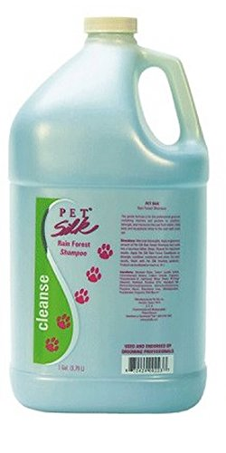 Pet Silk Rainforest Shampoo, 1-Gallon
