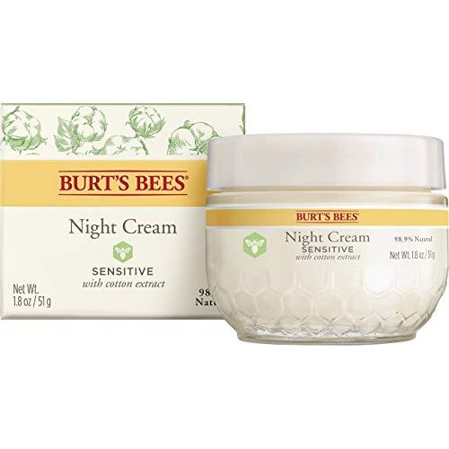 - Burt's Bees Night Cream for Sensitive Skin, 1.8 Ounces