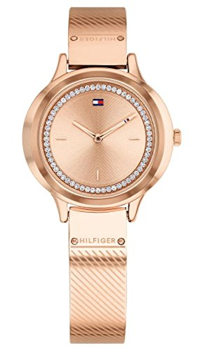 (Tommy Hilfiger Rose Gold Stainless Steel Watch-1781911)