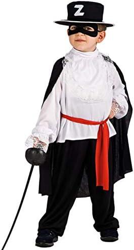 Carnival T. Disfraz de Zorro Spadaccino – 6 – 7 años: Carnival T ...