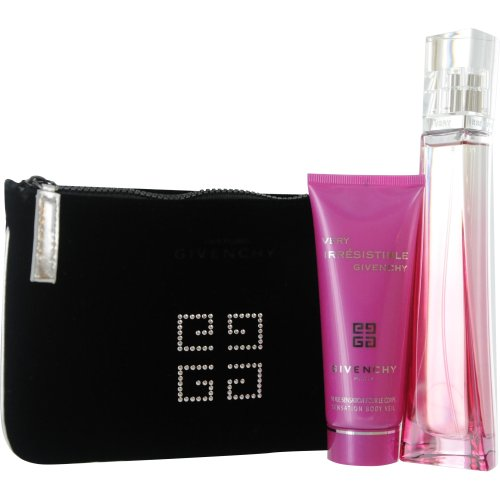 Givenchy Fragrance Set, Very Irresistible (Eau de Toilette Spray, Body Lotion 2.5 Oz and Pouch)