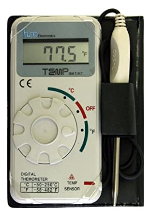 hm digital tm 1 industrial grade digital celsius and fahrenheit