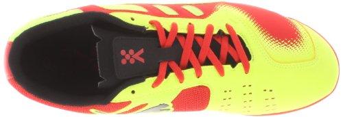 PUMA Mens Nevoa Lite Indoor Soccer Shoe High Risk Red/Black/Yellow/White RjLBsYc