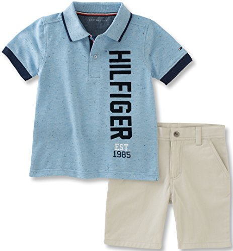 38615cf63 Galleon - Tommy Hilfiger Toddler Boys  2 Piece Polo And Short Set ...