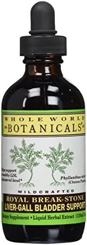Whole World Botanicals, Royal Break Stone Liver Flush, 4 Ounce