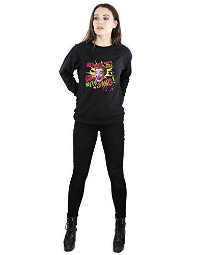 Bang De Dc Series Mujer Batman Negro Comics Entrenamiento Camisa Joker Tv qR8Yx6S8w