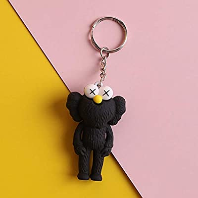 baby KAWS Keychains Micro Landscape Design Set of 4 Miniature Super Cute Baby KAWS Keychains Prefect Gift: Toys & Games