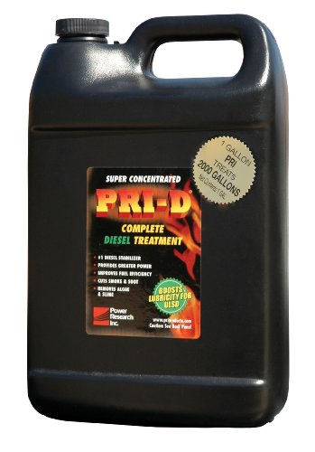 PRI-D Fuel Stabilizer- Gallon Size Unit Treats 2000 Gallons of Fuel